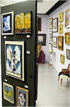The Dickson Gallery of Fine Art, A View of the Gallery
