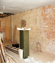 The Dickson Gallery of Fine Art, View of Upstairs Renovations