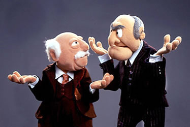 Statlor and Waldorf speak on behalf of the Dickson Gallery